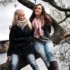 Lifestyle-bilder på Filippa och Karin